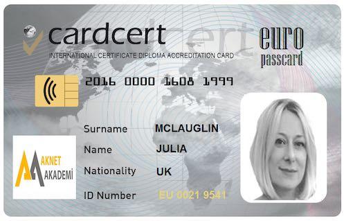 Cardcert Europass Card